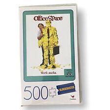 NEW Office Space WORK SUCKS Blockbuster 500 Piece Jigsaw Puzzle VHS Plastic Case