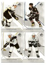 2006-07 SP AUTHENTIC HOCKEY COMPLETE 100 CARD BASE SET #1-100 NICE SET