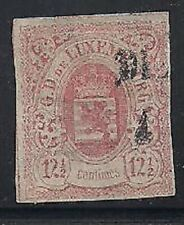 Luxembourg Stamps- Scott # 8/A3-12 1/2c-Canc/H-1859-64
