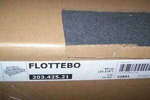 New Ikea FLOTTEBO sofa bed COVER SET  Lysed Dark Grey [90cm]  203.425.21