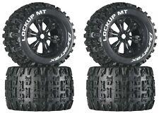 """Duratrax DTXC3578 Mounted Lockup MT 3.8"""" Tires / Wheels (4) Revo 3.3 Savage XL"""