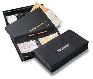ASA2Fly Dokumententasche für Flugunterlagen Master Logbook Case aus Nylon