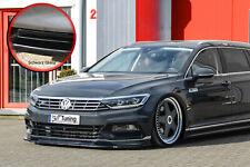 Alerón frontal de cuplippe ABS para VW Passat 3g b8 r-line con Abe brillo negro