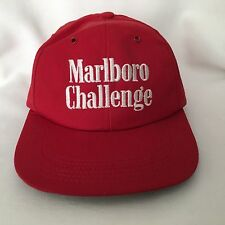 Vintage Marlboro Challenge Hat Cap Snapback 1980s Indy Car CART race