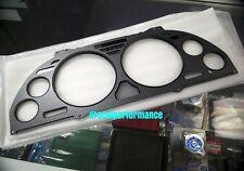 JDM HONDA ACURA NSX NSX-R GAUGE CLUSTER METER TRIM PANEL CARBON FIBER BLACK NA1