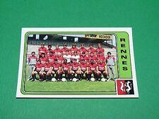 N°264 EQUIPE STADE RENNES PANINI FOOTBALL 86 CHAMPIONNAT FRANCE 1986