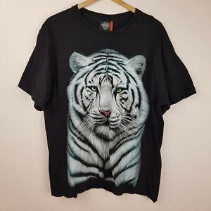 Vintage T-Shirt Tiger Size XL Rock Eagle Single Stitch