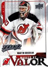 2008-09 Upper Deck MVP Marked By Valor #1 Martin Brodeur