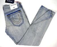 True Religion $349 Men's Geno Worn Tropics Slim Super T Jeans - MDAJ19N29E