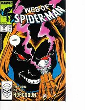 Web of Spider-Man #38 Return of the Hobgoblin FREE SHIPPING AVAILABLE!