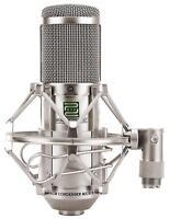Professionale Microfono Condensatore Registrazione Vocale ASMR Set Ragno Argento
