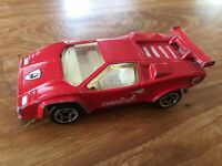 Matchbox Lamborghini Countach LP 500S 1985 Red Rot
