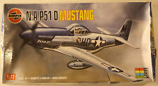 USA North American P-51 D Mustang 1/72 Airfix 02089, 1995 Airplane Model Kit