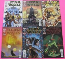 Star Wars # 1 - 53 & Annual # 1,2,3 COMIC RUN MARVEL 2018  56 book lot