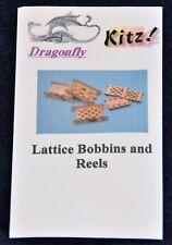 Lattice Bobbins and Reels Kit Dragonfly International Miniature Dollhouse 1:12