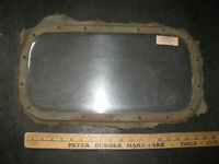 WWII JEEP DOUBLE PANE PLEXIGLASS WINDOW-ARCTIC-CANVAS CAB Cat Tractor WILLYS VTG