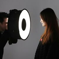 Soft Box Speedlight Lighting Room Ring Softbox For CANON NIKON SONY Photography