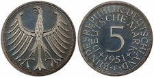 GERMANY - FEDERAL REPUBLIC. 1951-F AR 5 Mark. PCGS PR67 Cameo. KM 112.1; J-387.