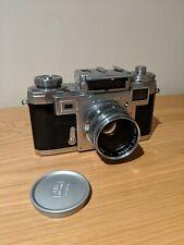 Contax (Zeiss Ikon) IIIa Rangefinder Film Camera with sonnar 50mm f1.5