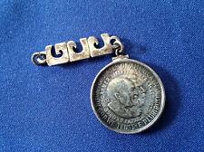 1952-P Washington Carver Silver Half Dollar mounted in a Custom Pendant  E5012