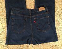 LEVI'S 512 PERFECTLY SLIMMING BOOT CUT WOMEN'S JEANS SIZE 8 SHORT