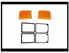 Volkswagen bay window Kombi Bus front turn signal lenses and seal Kit