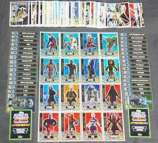 Force Attax Clone Wars Serie 5 Force Meister & Star-Karten aussuchen Neu Topps