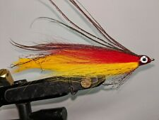 3 Each 3/0 Red and Yellow Lefty's Deceiver