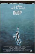 THE DEEP Movie POSTER 27x40 B Nick Nolte Jacqueline Bisset Robert Shaw Louis