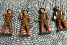Vintage Lot of 4 Pieces - Barclay Manoil Lead Band Members Soldiers