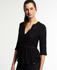 New Womens Maritime Dream Blouse Black