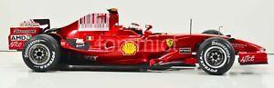 2008 Ferrari F2008 1/18 Kimi Raikkonen Spa FULL LIVERY Hot Wheels Mattel