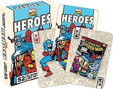 Marvel Heroes Retro Juego De Naipes (casi como nuevo 52326)