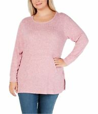 Style & Co. Womens Ribbed Knit Sweater