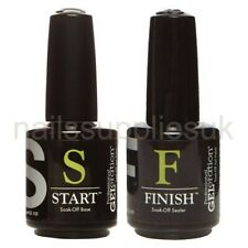 JESSICA GELeration START Base Coat & FINISH Top Coat SET UV/LED Gel Nail Polish