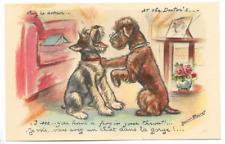 """CPA """" GERMAINE BOURET - Je vois.... vous avez un chat dans la gorge !... ****"""