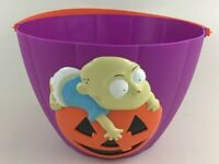 Rugrats Vintage 1998 Tommy Pickles Halloween Bucket Trick Or Treat Pail Viacom