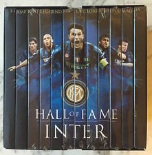 OPERA COMPLETA BOX COFANETTO 12 DVD HALL OF FAME INTER INTERNAZIONALE