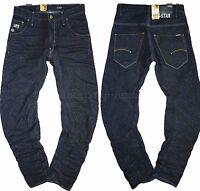 G-Star Mens Jeans W-31 L34 Arc 3d Loose Tapered 12oz Hemlock dark aged denim New