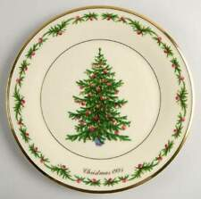 Lenox Christmas Trees Around The World Plate 1991 Germany 74013