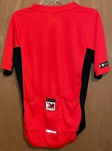 Bontrager Semi-Fitted Cycling Jersey Size Small Gryphons Cycling Club Pockets