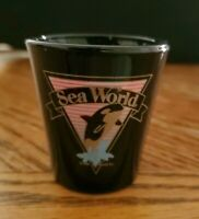 "SEA WORLD California 2 1/4"" Black Shot Glass"