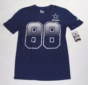 Dez Bryant Dallas Cowboys Nike Tee Athletic Cut Name Number T-Shirt Men's Small