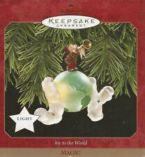 1997 Hallmark Keepsake Ornament: Joy To The World (Magic) Cute As Can Be!