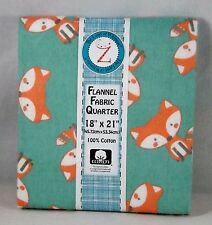 #126 Land of Whimzie 100% Cotton Flannel Fat Quarter - Woodsie Pal
