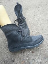 CHACO Babary Boots -  Ankle Lace Up Wool Suede gray Winter - SIZE: US 8.5