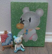 Touma Toumart  DANKE SCHOEN Bear Ltd Vinyl Toy Kaiju rare original painting mini