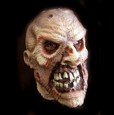 Smiley Zombie Undead Mask Adult Latex Halloween Costume Accessory