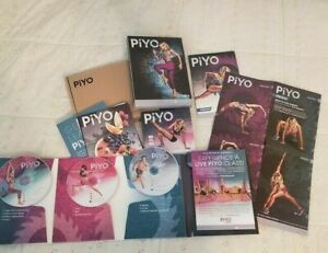 PIYO BEACHBODY 5 DVD SET Home Fitness Workout DEFINE YOURSELF