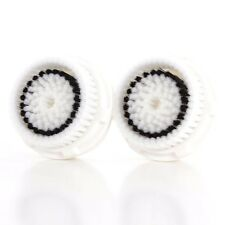 2 Sensitive Brush Heads For Clarisonic MIA & MIA2 PRO PLUS Replacement Head NEW